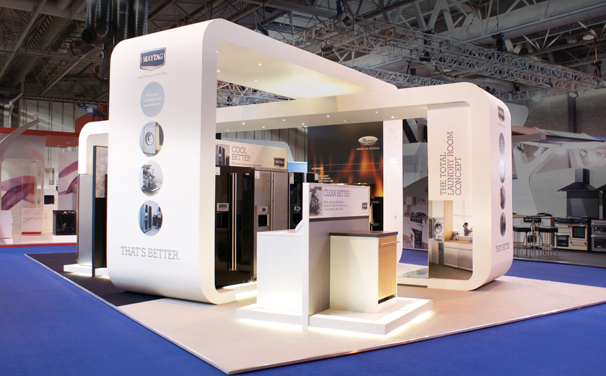 Marketing Exhibition Stand Goals : How you can use exhibition stand design for business