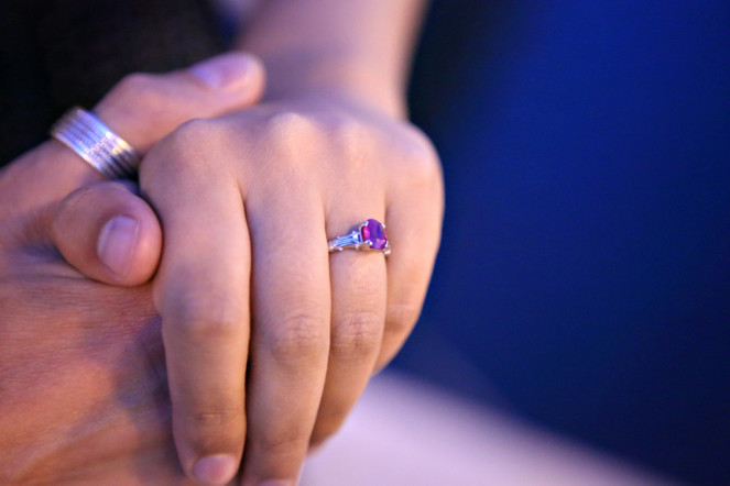 Choosing A Ruby, Blue Sapphire,  Or Emerald Engagement Ring