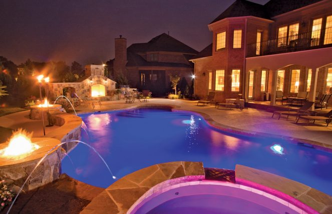 Modern Pool Lighting Options