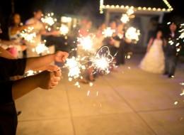 Are Wedding Sparklers Safe?